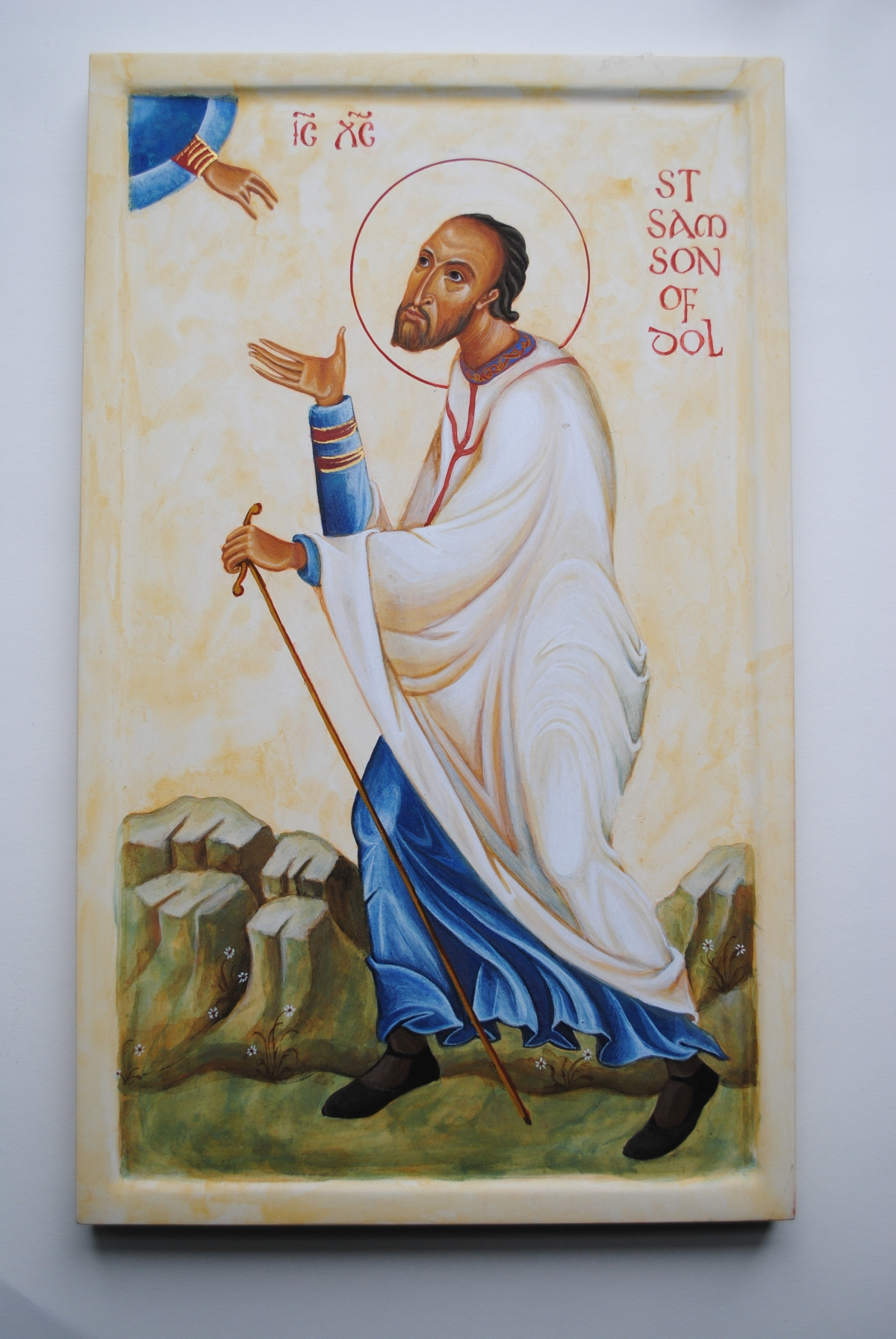 saint samson of dol Orthodox saint of Brittany